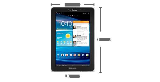 Samsung 7.7 LTE I815